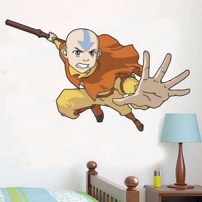 Adesivo de Parede Infantil A Lenda do Avatar Aang