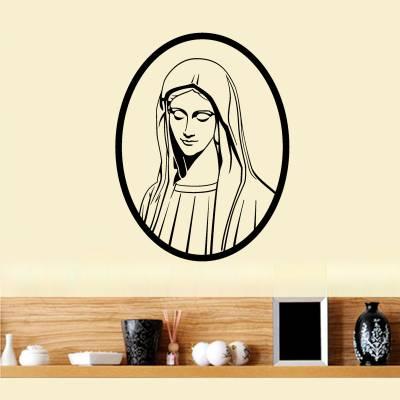 Adesivo De Parede Religião Ave Maria