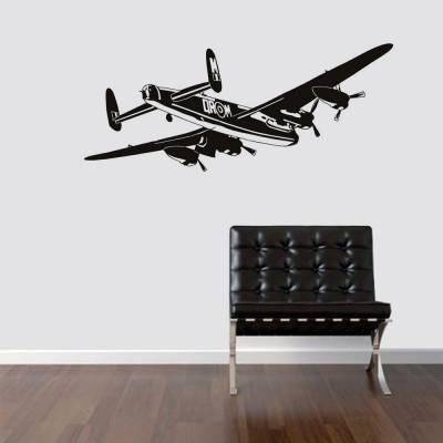 Adesivo de Parede Avião de Bombardeio e Transporte