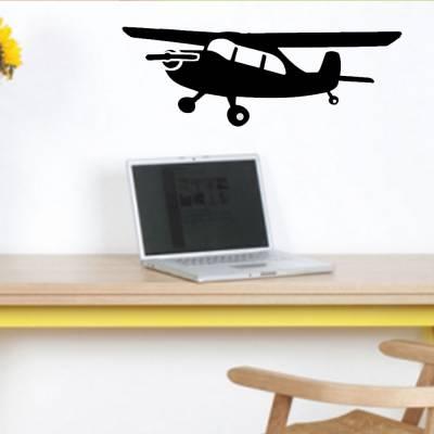 Adesivo De Parede Avião Teco-teco