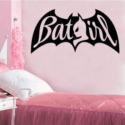 Adesivo de Parede Batgirl