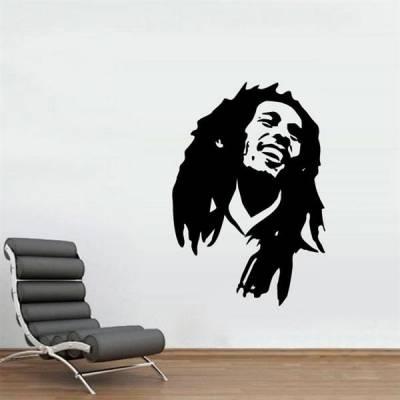 Adesivo decorativo do Parede Bob Marley