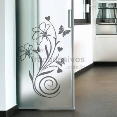 Adesivo Decorativo de Parede Floral Modelo 28 (Primavera)