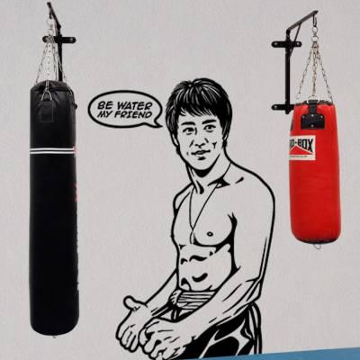 Adesivo De Parede Bruce Lee - Be Water