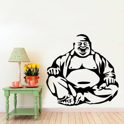 Adesivo de Parede Religião Buda Meditando