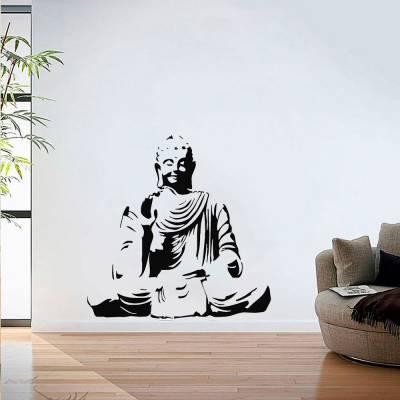 Adesivo De Parede Estatua Buda