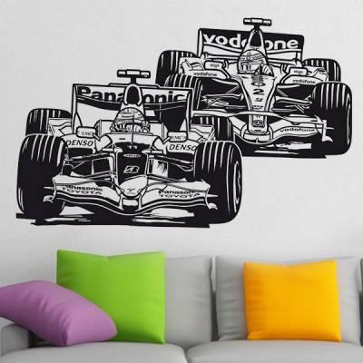 Adesivo de Parede Carros de Formula 1