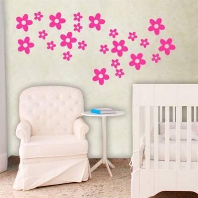 Cartela - Quarto Infantil Flores 01
