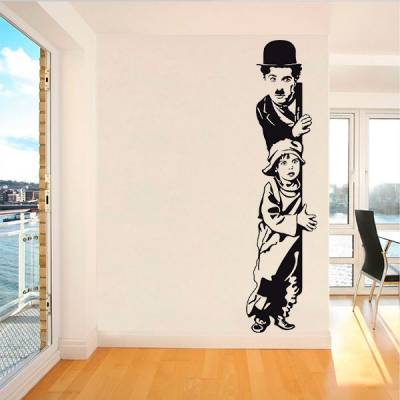 Adesivo de Parede Charlie Chaplin The Kid