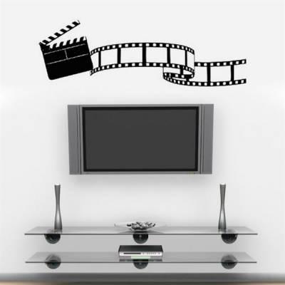 Adesivo de parede Claquete de Cinema