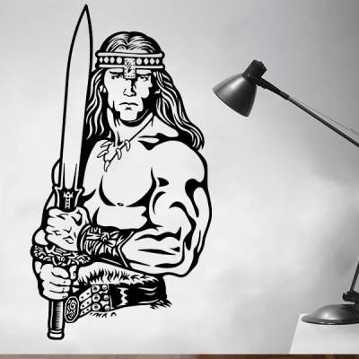 Adesivo de Parede Conan o barbaro