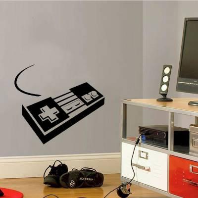 Adesivo De Parede Controle NES Nintendo