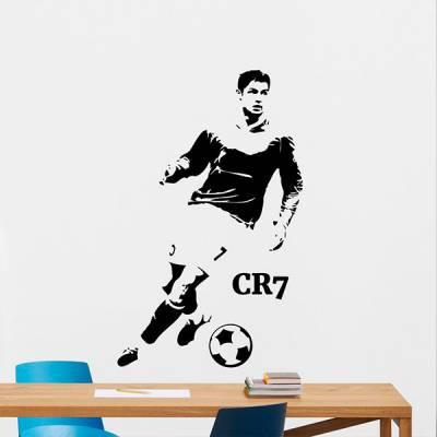 Adesivo de Parede Cristiano Ronaldo CR7