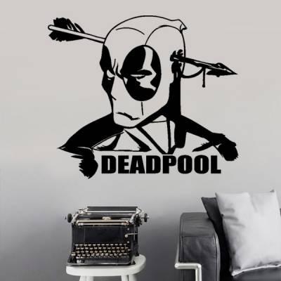 Adesivo de Parede Deadpool 4