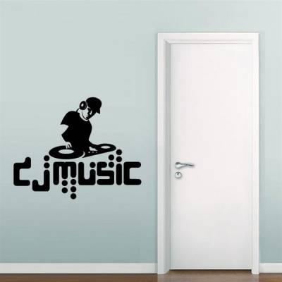 Adesivo de Parede DJ music