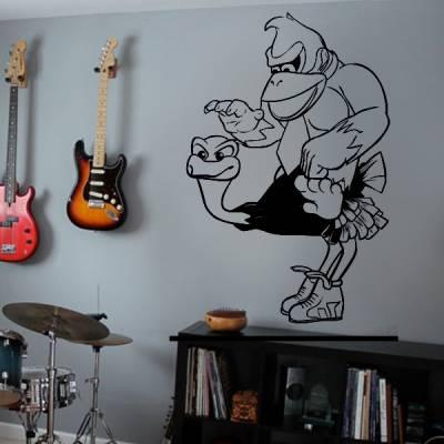 Adesivo de Parede Donkey Kong