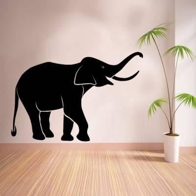 Adesivo de Parede Animais Elefante