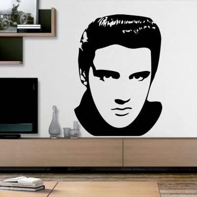 Adesivo de Parede Elvis Presley