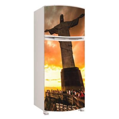 Adesivo para Envelopamento de Geladeira para porta Rio de Janeiro