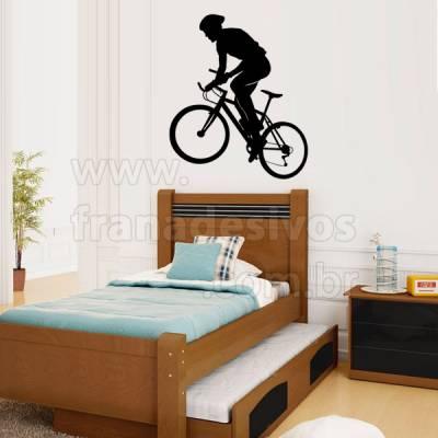 Adesivo de parede - Ciclismo modelo 2