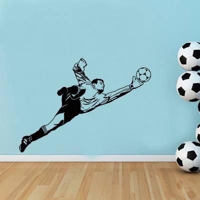 Adesivo de Parede Esportes Futebol Goleiro