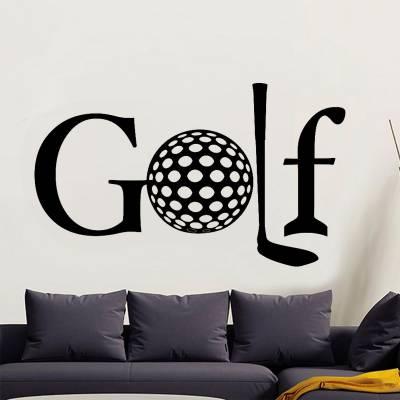 Adesivo De Parede E Porta Esportes Golf