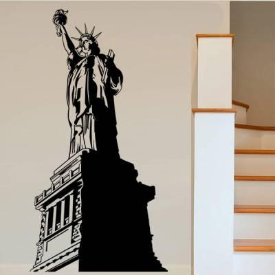Adesivo de Parede Monumento Estatua da Liberdade