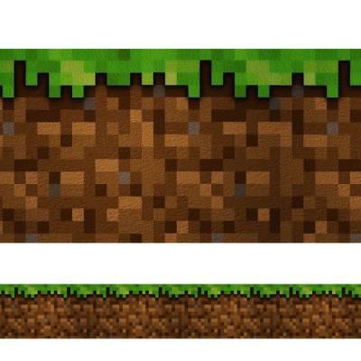 Faixa de Parede Auto-adesiva Minecraft