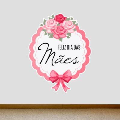 Adesivo de Parede Feliz Dia das Mães 3