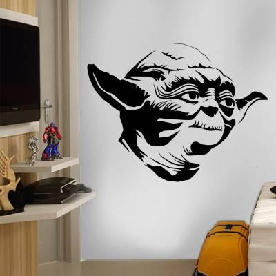 Adesivo de Parede Star Wars Mestre Yoda 02