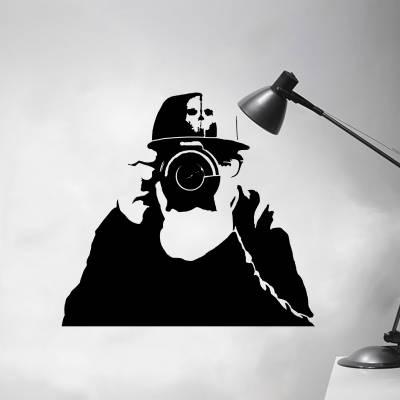 Adesivo De Parede Profissões Fotografo