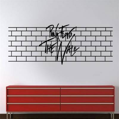 Adesivo de Parede frase Pink Floyd