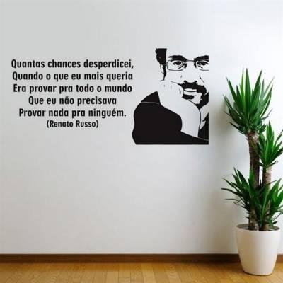 Adesivo de Parede Renato Russo