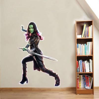 Adesivo De Parede Marvel Gamora