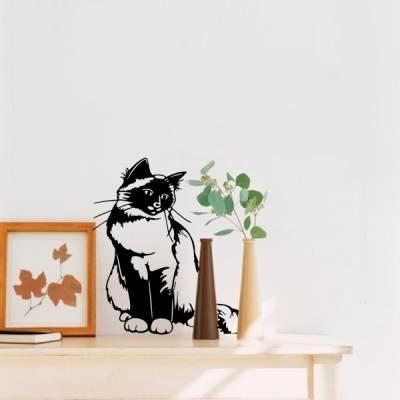 Adesivo de parede - Gato