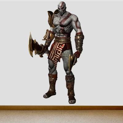 Adesivo de Parede God Of War Kratos 2