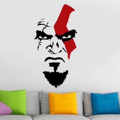Adesivo de Parede God Of War Kratos