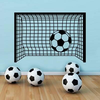 Adesivo De Parede Esportes Gol Futebol