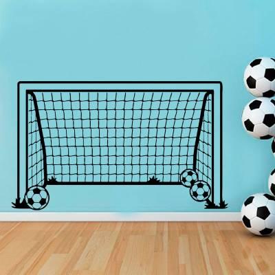 Adesivo de Parede Infantil Esportes Gol De Futebol