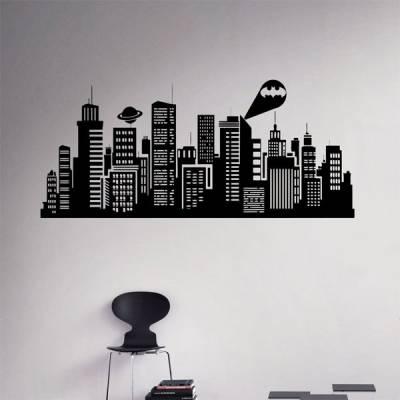 Adesivo de Parede Gotham City