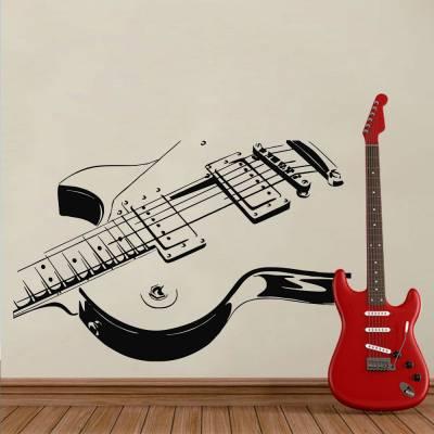 Adesivo De Parede Guitarra Zoom