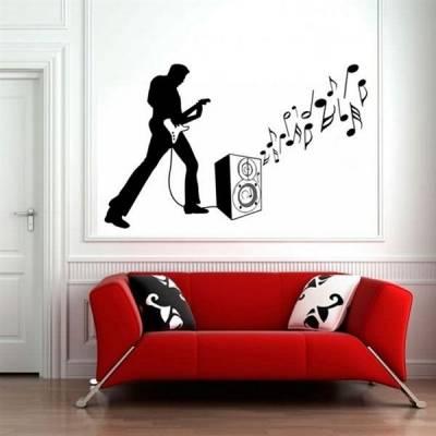 Adesivo decorativo Guitarrista