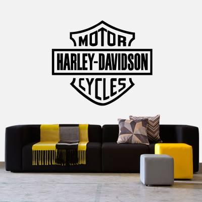Adesivo de Parede Harley Davidson Logo