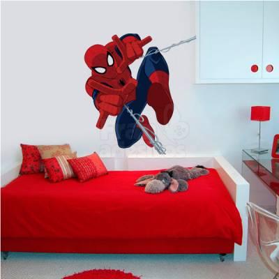 Adesivo de Parede Homem Aranha Modelo 2