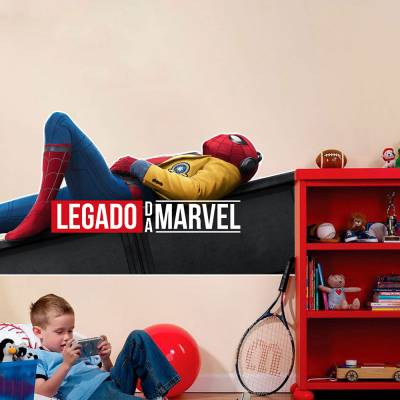 Adesivo De Parede Marvel Homem Aranha