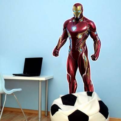 Adesivo De Parede Marvel Homem De Ferro 03