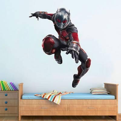 Adesivo De Parede Marvel Homem Formiga 02