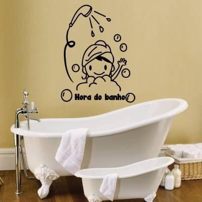 Adesivo de Parede Hora do Banho