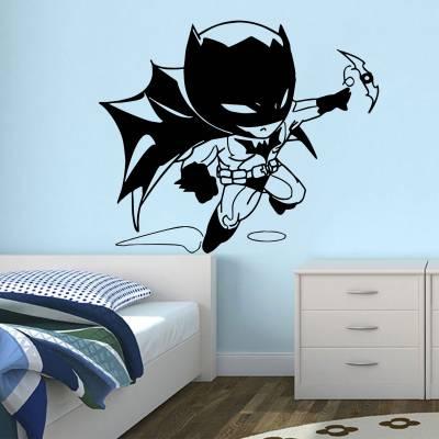 Adesivo De Parede Baby Batman