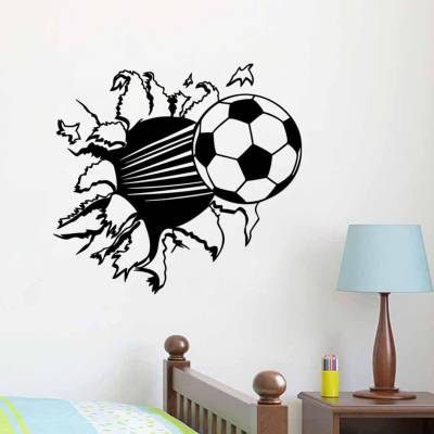 Adesivo De Parede Bola De Futebol 2
